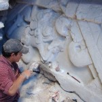 Expertos trabajan en la reconstrucción de algunas partes de los murales 150x150 - El Mirador, Petén - Ciudad Maya