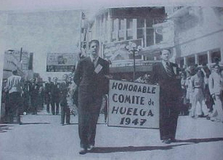 Huelga de Dolores en 1947
