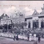 Recuerdos Fiestas de Minerva alrededor de 1911 época del licenciado Estrada Cabrera en lo que hoy es la esquina del Palacio y la catedral 6a Calle y 7a Avenida 150x150 - Las Fiestas de Minerva en Guatemala