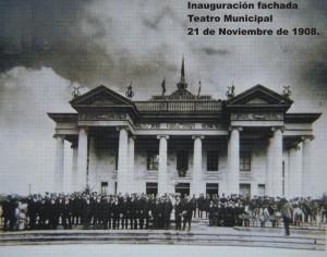 Teatro Municipal en 1908 - por Jorge Perez