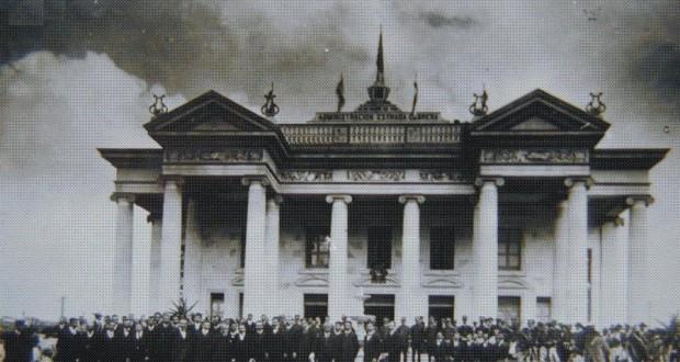 Teatro Municipal en 1908 por Jorge Perez 620x330 - El Origen del Teatro Municipal de Quetzaltenango