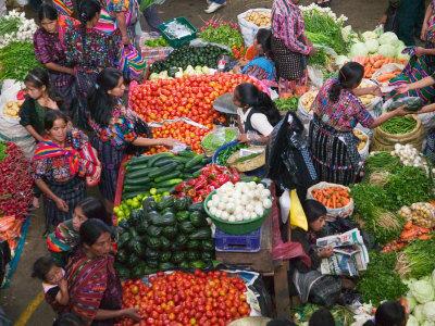 El mercado de Chichicastenango