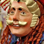 Mascara de Moro integrante del baile folklorico en Todos Santos Cuchumatanes, Huehuetenango - foto por Mynor Marino Mijangos.