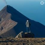 Desde el volcán Acatenango viendo parte del volcan de Fuego foto por Mauricioleonel 150x150 - Galería  - Fotos de Volcanes en Guatemala
