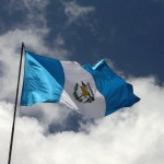 La bandera de Guatemala - foto por muniguate.com