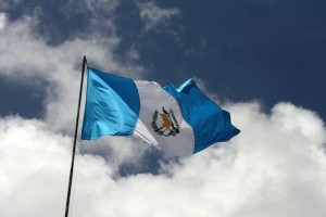 La bandera de Guatemala – foto por muniguate.com