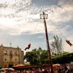 Palo Volador en Mazatenango - foto por Christopher Ovalle