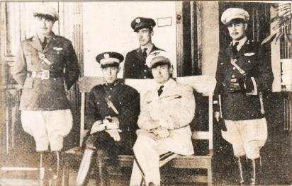 Personal del Cuerpo de Aeronáutica Militar en1921