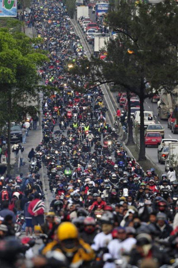La Caravana del Zorro, en marcha hacia Esquipulas - foto por todanotocia.com