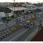 Alfombra en Puerto Barrios Izabal foto por I Love Puerto Barrios 150x150 - Galería - Fotos de las Tradicionales Alfombras de la Cuaresma y Semana Santa