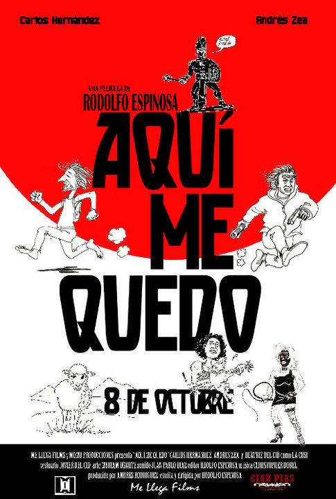 Aqui Me Quedo cine guatemalteco Lista de Películas Guatemaltecas mundochapin imagen