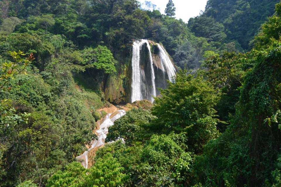 Catarata de Santa Avelina, Cotzal, Nebaj El Quiché - foto por Emmanuel Santiago