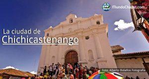 La ciudad de Chichicastenango