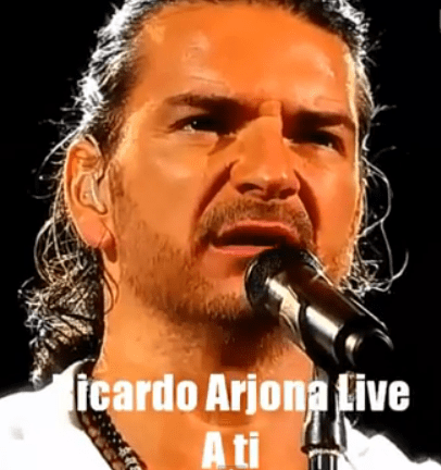 Video Musical (en Vivo) – Ricardo Arjona con la canción, A Ti