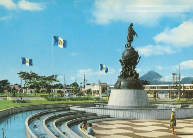 Monumento de Cristobal Colon, en la Avenida las Americas