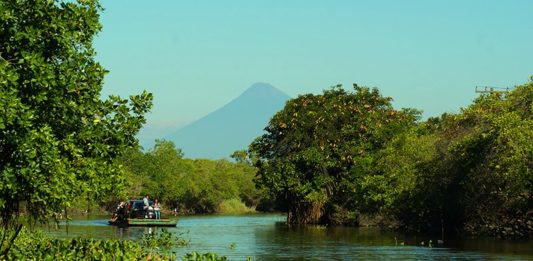 Canal de Chiquimulilla, Monte Rico, Santa Rosa – foto por Oscar Sierra