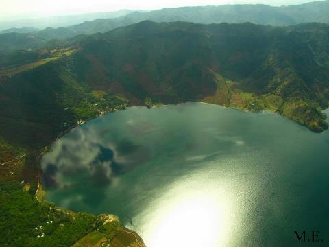 Laguna de Ayarza Santa Rosa foto por Maria Rene Enriquez SUPER - El Origen de el Departamento de Santa Rosa