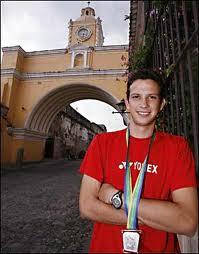 kevin cordon badmintoncentral com - Kevin Cordón, jugador de bádminton