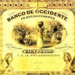Antiguo billete nacional foto por Juan Arturo Pérez 150x150 - El Origen de la Moneda en Guatemala