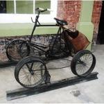 Bicicleta ferroviaria en el museo del ferrocarril foto por mqueme 150x150 - Galería – Fotos del Ferrocarril de Antaño en Guatemala