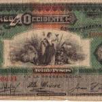 Billete de 20 pesos 1949 foto por Eventos Teaz 150x150 - El Origen de la Moneda en Guatemala