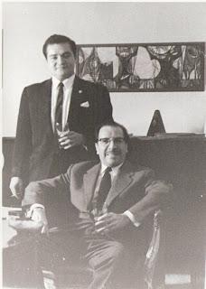El maestro Jorge Sarmientos Bruselas 1960 - Jorge Alvaro Sarmientos, compositor y director