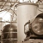 Foto del una locomotora en el museo del Ferrocarril foto por Rodrigo Motta 150x150 - Galería – Fotos del Ferrocarril de Antaño en Guatemala