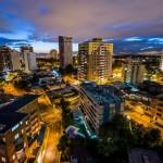 La ciudad de Guatemala, zona 14 - foto por Ivan Castro