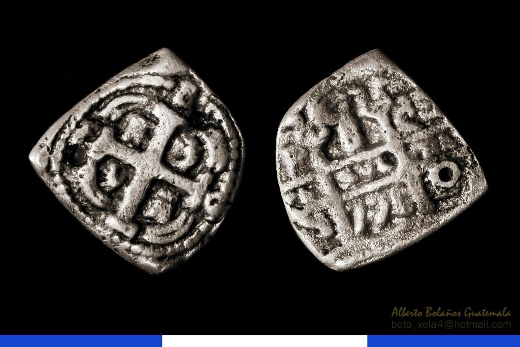 Moneda 1 Macaco macuquina moneda de Gautemala alrededor de 1700 foto por Beto Bolaños e1372441605390 - El Origen de la Moneda en Guatemala