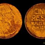 Moneda de 5 pesos foto por Alberto Bolanos 150x150 - El Origen de la Moneda en Guatemala