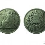 Moneda de Guatemala en 1895 un Peso foto por Beto Bolanos 150x150 - El Origen de la Moneda en Guatemala