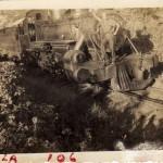 Recuerdos del Ferrocarril de Guatemala Raul Garcia en el frente de la locomotora foto por Guillermo Gonzales 150x150 - Galería – Fotos del Ferrocarril de Antaño en Guatemala