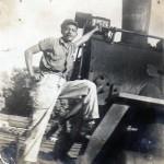 Recuerdos del Ferrocarril en Guatemala aqui se ve el señor Raul Garcia quien trabajaba en el ferrocarril foto por Guillermo Gonzales 150x150 - Galería – Fotos del Ferrocarril de Antaño en Guatemala