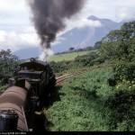 Subiendo de Escuintla a Palin en 1971 foto por Sergio Molina 150x150 - Galería – Fotos del Ferrocarril de Antaño en Guatemala