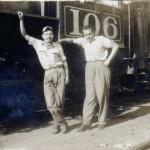 Trabajadores del Ferrocarril en Guatemala foto del recuerdo foto por Guillermo Gonzales 150x150 - Galería – Fotos del Ferrocarril de Antaño en Guatemala