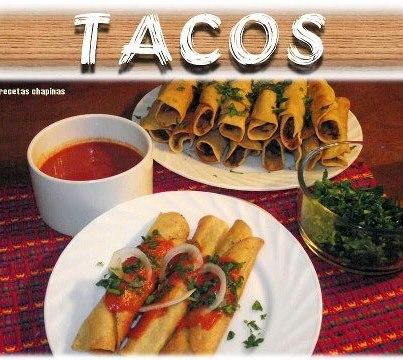 Video Por Recetas Chapinas y Más – Tacos
