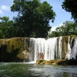 Cascada, Las Conchas - foto por Oasis Chiyú.