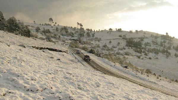 Nevada 10 San Marcos 01 25 2013 Twitter DJamblet - Galería - Fotos de la Nieve en San Marcos, Guatemala, Enero 25, 2013