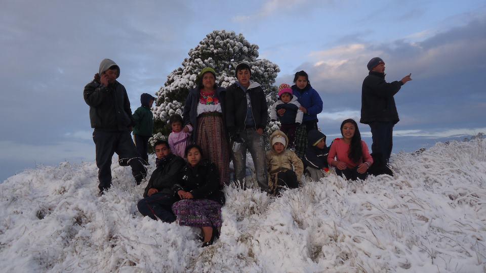 Nevada 4 Ixchiguan San Marcos 1 25 2013 3 Lino Martinez - Galería - Fotos de la Nieve en San Marcos, Guatemala, Enero 25, 2013