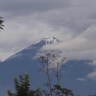 Nevada 8 volcan Acatanengo 01 25 13 Ffacsa RinoBlock Ferreterias - Galería - Fotos de la Nieve en San Marcos, Guatemala, Enero 25, 2013