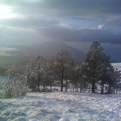 Nevada 9 San Marcos nevando 01 25 2013 Madelyn deLeon - Galería - Fotos de la Nieve en San Marcos, Guatemala, Enero 25, 2013