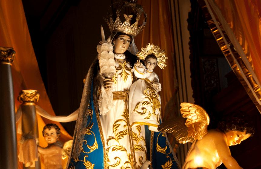 Celebración de la Virgen de Candelaria