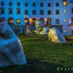 El Gigante obra de Walter Peter Brenner en Paseo Cayalá - foto por Waseem Syed