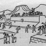 Juego de Pelota M dibujo rafaelcondill.blogspotcom 150x150 - El Juego de Pelota de Los Mayas