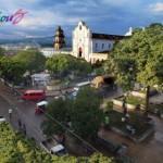 Parque en Santa Cruz del Quiché - foto por Osorious Oso