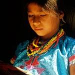 Rostros en Guatemala - Niña de San Andrés Sajcabajá, Quiché - foto por Osorious Oso