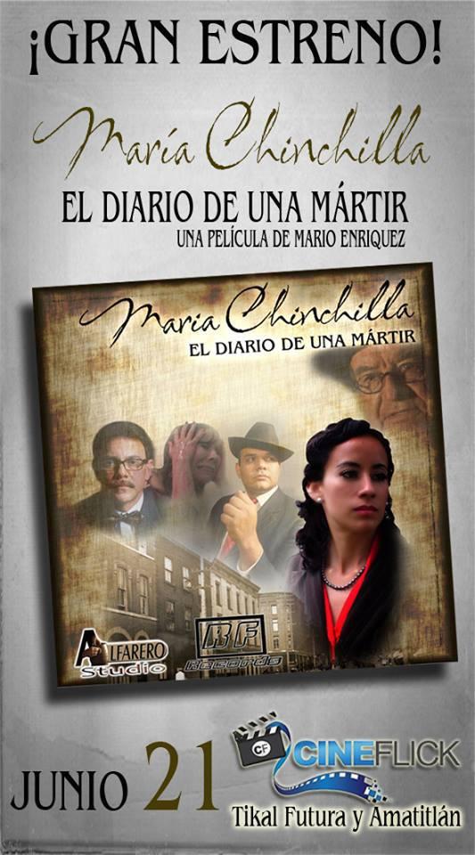 profesora maria chinchilla banner de pelicula - María Chinchilla, profesora y símbolo cívico
