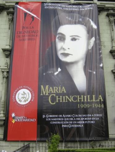 profesora maria chinchilla banner - María Chinchilla, profesora y símbolo cívico