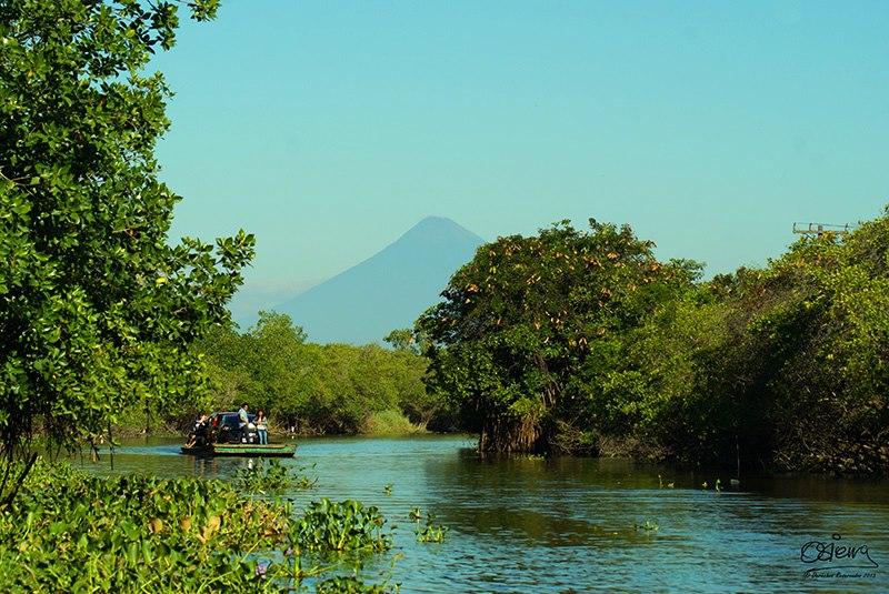 Canal de Chiquimulilla Monte Rico Santa Rosa foto por Oscar Sierra1 - La Historia del Canal de Chiquimulilla
