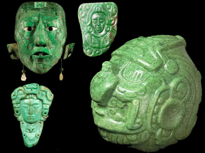 Jade objetos Mayas losdivulgadorescom - El Jade en la Cultura Maya